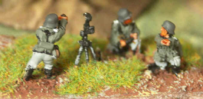 Flames of War German HMG Team