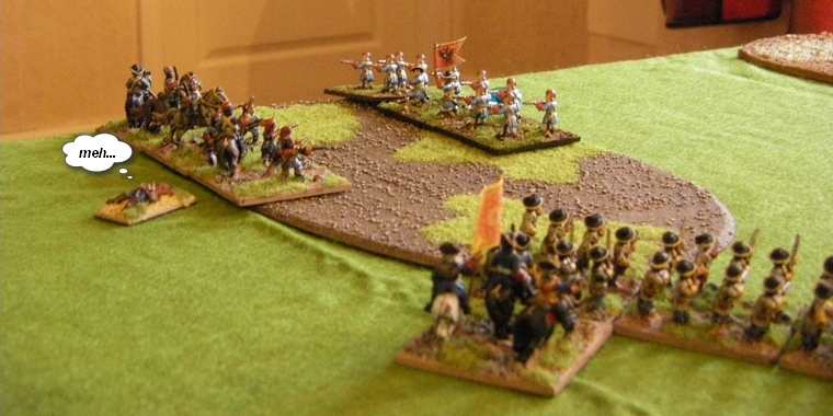 FoGR Age of the Sun King: Later Louis XIV French Dragoons shot by Habsburg Austrians