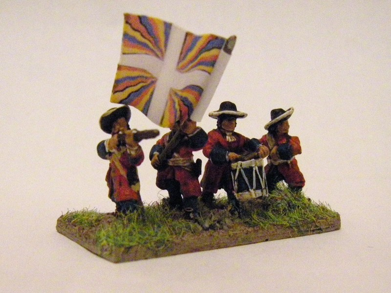 FoGR Louis XIV French 15mm Essex Figures